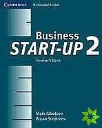 Cambridge University Press Business Start-up 2 Teacher´s Book cena od 512 Kč