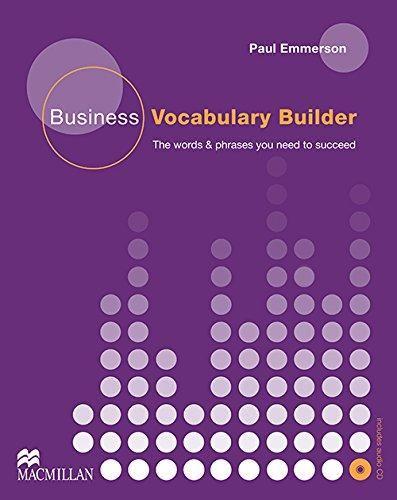 Macmillan Business Vocabulary Builder with Audio CD cena od 588 Kč