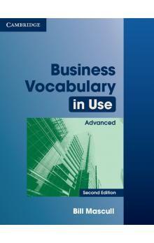 Cambridge University Press Business Vocabulary in Use 2nd Edition Advanced with answers cena od 432 Kč