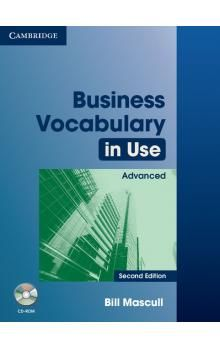 Cambridge University Press Business Vocabulary in Use 2nd Edition Advanced with answers and CD-ROM cena od 612 Kč