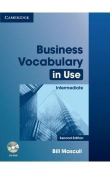 Cambridge University Press Business Vocabulary in Use 2nd Edition Intermediate with answers and CD-ROM cena od 612 Kč