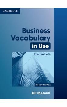XXL obrazek Cambridge University Press Business Vocabulary in Use Intermediate (2nd Edition) with Answers