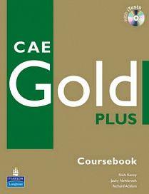 Longman CAE Gold Plus Coursebook + CD-ROM cena od 711 Kč