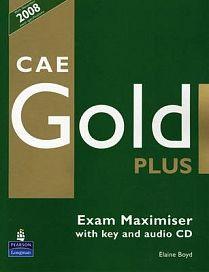 Longman CAE Gold Plus Exam Maximiser (with key) + CD cena od 436 Kč