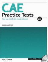 Oxford University Press CAE PRACTICE TESTS for Updated Exam 2008 Edition PACK WITH ANSWERS cena od 437 Kč