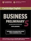 Cambridge University Press Cambridge BEC 5 Preliminary Student´s Book with answers cena od 468 Kč