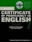 Cambridge University Press Cambridge Certificate of Proficiency in English 1 Self-study Pack (Student´s Book with answers and Audio CDs (2)) cena od 1072 Kč