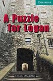 Cambridge University Press Cambridge English Readers 3 A Puzzle for Logan: Book/2 Audio CDs pack ( Murder Mystery) cena od 124 Kč