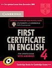 Cambridge University Press Cambridge First Certificate in English 4 for updated exam Self-study Pack (Student´s Book with answers and Audio CDs (2)) cena od 639 Kč