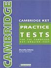 Heinle CAMBRIDGE KET PRACTICE TESTS ANSWER KEY cena od 81 Kč