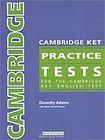 Heinle CAMBRIDGE KET PRACTICE TESTS ANSWER KEY cena od 79 Kč