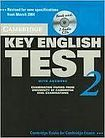 Cambridge University Press Cambridge Key English Test 2 Self-study Pack (Student´s Book with answers and Audio CDs (2)) cena od 631 Kč