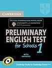 Cambridge University Press Cambridge PET for Schools 1 Student´s Book with answers cena od 404 Kč