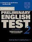Cambridge University Press Cambridge Preliminary English Test 2 Self-study Pack (Student´s Book with answers and Audio CD) cena od 616 Kč