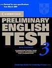 Cambridge University Press Cambridge Preliminary English Test 3 Self-study Pack (Student´s Book with answers and Audio CD) cena od 616 Kč
