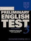 XXL obrazek Cambridge University Press Cambridge Preliminary English Test 3 Student´s Book with answers