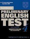 Cambridge University Press Cambridge Preliminary English Test 4 Self-study Pack (Student´s Book with answers and Audio CDs (2)) cena od 616 Kč