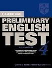 XXL obrazek Cambridge University Press Cambridge Preliminary English Test 4 Student´s Book with answers