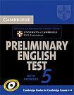Cambridge University Press Cambridge Preliminary English Test 5 Student´s Book with answers cena od 444 Kč