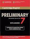 Cambridge University Press Cambridge Preliminary English Test PET 7 Student´s Book with answers cena od 444 Kč