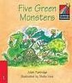 Cambridge University Press Cambridge Storybooks 1 Five Green Monsters: Juliet Partridge cena od 70 Kč