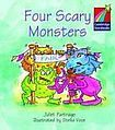 Cambridge University Press Cambridge Storybooks 1 Four Scary Monsters: Juliet Partridge cena od 60 Kč