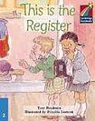 Cambridge University Press Cambridge Storybooks 2 This is the Register: Tony Bradman cena od 84 Kč