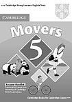 Cambridge University Press Cambridge Young Learners English Tests Movers 5 Answer Booklet cena od 64 Kč