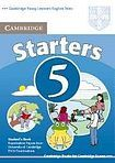 Cambridge University Press Cambridge Young Learners English Tests Starters 5 Student´s Book cena od 196 Kč
