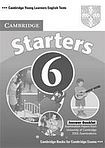 Cambridge University Press Cambridge Young Learners English Tests Starters 6 Answer Booklet cena od 64 Kč