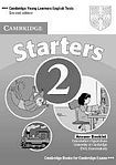 Cambridge University Press Cambridge Young Learners English Tests. 2nd Ed. Starters 2 Answer Booklet cena od 64 Kč