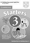Cambridge University Press Cambridge Young Learners English Tests. 2nd Ed. Starters 3 Answer Booklet cena od 64 Kč