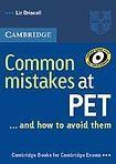 Liz Driscoll: Common Mistakes at PET cena od 179 Kč