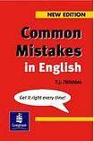 Longman Common Mistakes in English cena od 382 Kč