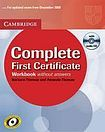 Cambridge University Press Complete First Certificate Workbook with Audio CD without answers cena od 238 Kč