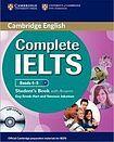 Cambridge University Press Complete IELTS B1 Student´s Book with Answers a CD-ROM cena od 652 Kč