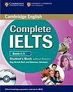 Cambridge University Press Complete IELTS B1 Student´s Book without Answers with CD-ROM cena od 639 Kč