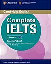 Cambridge University Press Complete IELTS B1 Teacher´s Book cena od 559 Kč