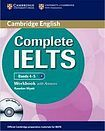 Cambridge University Press Complete IELTS B1 Workbook with answers a Audio CD cena od 340 Kč
