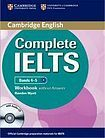 Cambridge University Press Complete IELTS B1 Workbook without Answers with Audio CD cena od 340 Kč