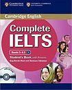 Cambridge University Press Complete IELTS B2 Student´s Pack (Student´s Book with Answers a CD-ROM a Class Audio CDs (2)) cena od 1112 Kč
