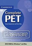 Cambridge University Press Complete PET Classware DVD-ROM cena od 2 696 Kč
