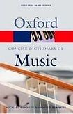 Oxford University Press CONCISE OXFORD DICTIONARY OF MUSIC 5th Edition cena od 266 Kč
