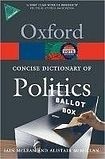 Oxford University Press CONCISE OXFORD DICTIONARY OF POLITICS 3rd Edition cena od 264 Kč