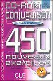 CLE International CONJUGAISON 450 NOUVEAUX EXERCICES: NIVEAU DEBUTANT CD-ROM cena od 360 Kč
