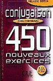 CLE International CONJUGAISON 450 NOUVEAUX EXERCICES: NIVEAU INTERMEDIAIRE cena od 271 Kč