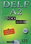 CLE International DELF A2 NOUVEAU DIPLOME LIVRET DE CORRIGES + CD AUDIO: 200 activites cena od 369 Kč