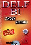 CLE International DELF B1 NOUVEAU DIPLOME LIVRET DE CORRIGES + CD AUDIO: 200 activites cena od 397 Kč