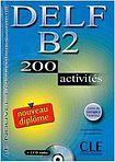 CLE International DELF B2 NOUVEAU DIPLOME LIVRET DE CORRIGES + CD AUDIO: 200 activites cena od 433 Kč