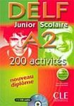 CLE International DELF Junior Scolaire A2 - Livre + CD audio cena od 347 Kč